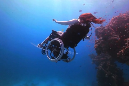 1. Submersible Wheelchair