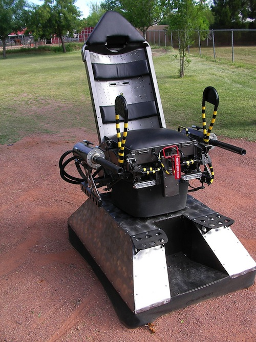 6. B-52 Ejector Seat Wheelchair