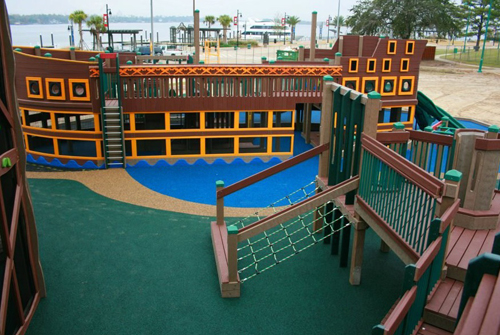 1. Shiver Me Timbers Millennium Park – Lake Charles, Louisiana