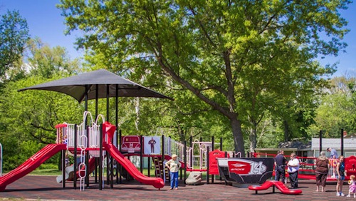 14. Tony Stewart Playground – Columbus, Indiana