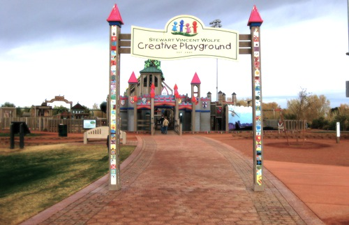 19. Stewart Vincent Wolfe Creative Playground – Yuma, Arizona