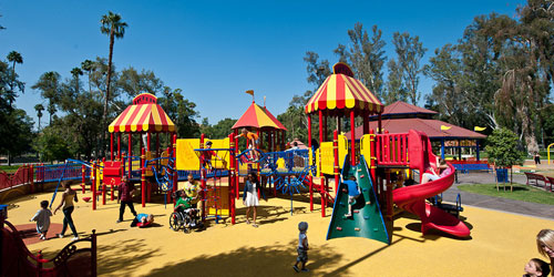26. Fairmount Carousel Playground – Riverside, California