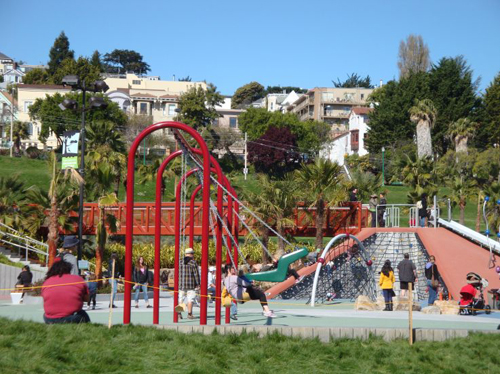 5. Helen Diller Playground – San Francisco, California